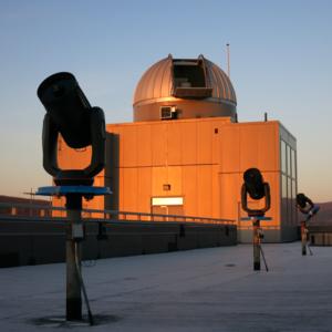 Stargazing at Mittelman Observatory